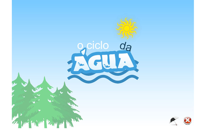 """Ciclo da Água"" ""The Water Cicle"""