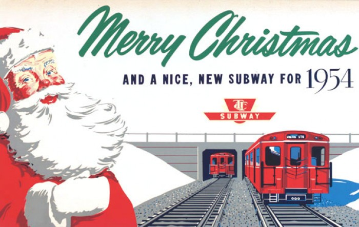 Christmas-Subway