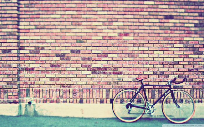 Vintage Bike Wallpaper