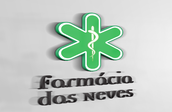 Logotipo Farmácia das Neves