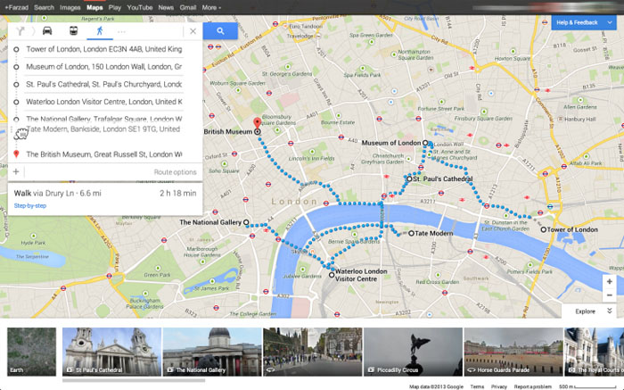Google Maps Updated With Directions For Multiple