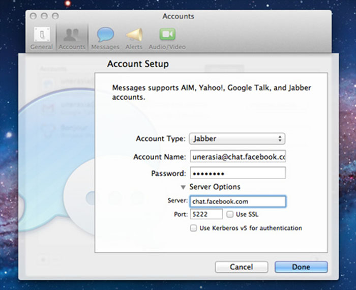 FB-Chat-setup-add-account-details