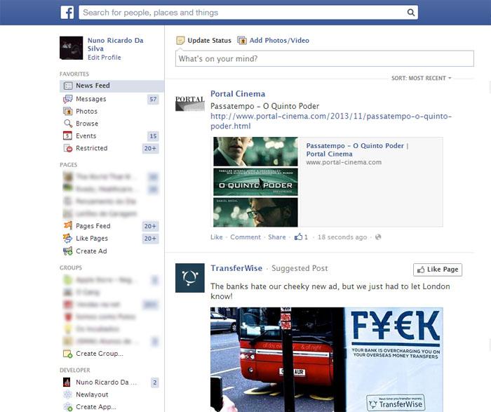 Facebook Browse