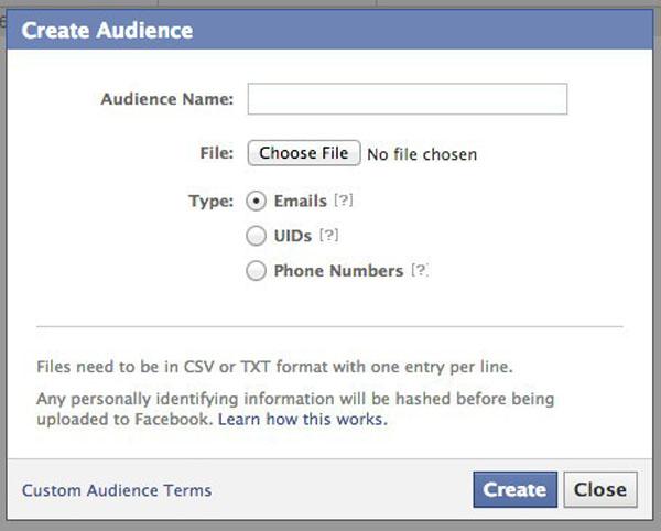 custom audiences