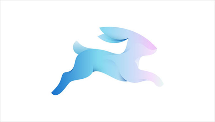 Rabbit-Logomark-Logo-Design-Trend-2015