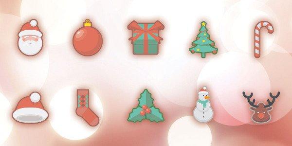 christmas-holidays-free-icon-set-600x300