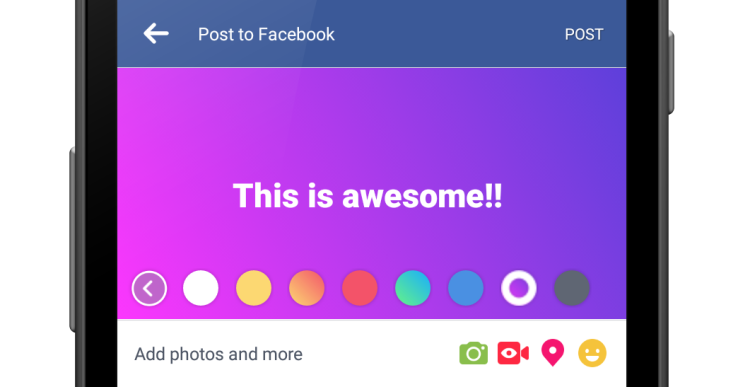 facebook-status-color